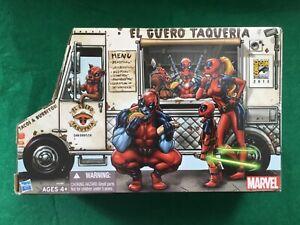 DEADPOOL Corps SDCC EXCLUSIVE TACO VAN FIGURE SET - Marvel - MINT IN BOX