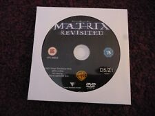 The Matrix Revisited (DVD) KEANU REEVES*LAURENCE FISHBURNE*SCI-FI**DISC ONLY**