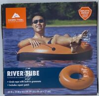 Ozark Trail Inflatable Orange Water Tube Raft Boat Pool Lake River
