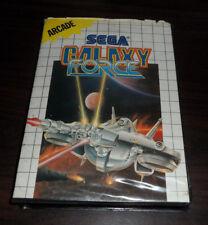 Sega Master System. Galaxy Force CIB (Soft Box) AUS Ozisoft
