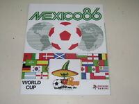 PANINI WORLD CUP MEXICO 86 - 1986 ALBUM OFFICIAL REPRINT - 100% complete