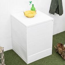 Copri lavatrice bianco universale cm 65 x 68 x 88 h con apertura a serranda