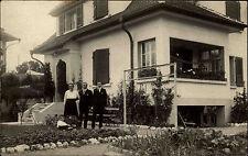 Bern Schweiz ~1940 Familie Fuerrer Furrer Familienfoto Personen Wohnhaus Haus