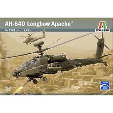 ITALERI 1:48 KIT ELICOTTERO DA MONTARE AH 64D LONGBOW APACHE ART 2748