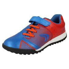 Chaussures rouges à lacets en cuir pour fille de 2 à 16 ans