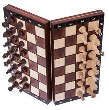 Reiseschach magnetisch in Kassette Reise Schach Schachspiel Zestawy szachowe
