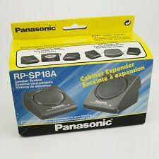 ~ Vintage ~ Panasonic ~ Portable Travel Speakers ~ RP-SP18A ~ 3.5mm Jack / AUX ~