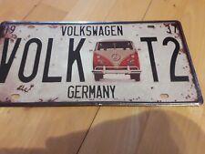 VW Volkswagen Bus  - Blechschild Schild  30x 15cm Ansehen