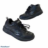 Gdefy Gravity Defyer Comfort Fit TB9007FBL-M Mens Orthopedic Shoes Sz 7.5M Black