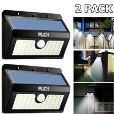 2x 45 LED Solar Power Motion Sensor Light Outdoor Garden Waterproof Yard Lamp