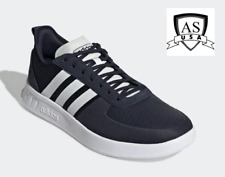 Adidas COURT80S Men's Tennis training shoes EE9673 Navy/ White Size 11.5 NEW