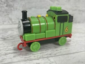 Mega Bloks THOMAS Tank Engine Friends Percy & Building Block Train
