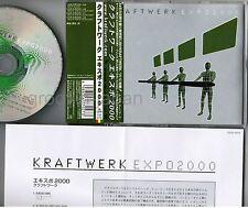 """KRAFTWERK Expo 2000 JAPAN 5"""" MAXI CD TOCP-40135 w/OBI+INSERT 4 tracks Free S&H"""