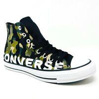 Converse Chuck Taylor All Star Hi Black Camo 166232F Mens Shoes