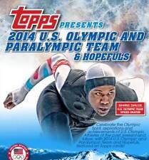 2014 TOPPS US OLYMPIC & PARALYMPIC HOPEFULS FULL SET 100 CARDS