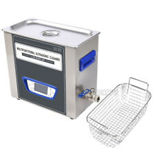 TUC-65 Digital LCD Ultrasonic Cleaner Cleaning Machine stainless steel PT
