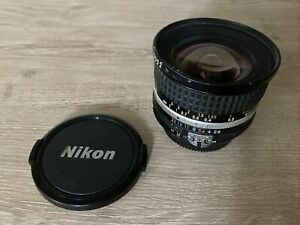 READ* NIKKOR 20mm F2.8 Ultra Wide Angle MF Prime Lens FUNGUS Nikon AI-S Mount