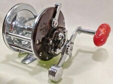 Penn Monofil No.27 Brown w/ Red Handle Bait Casting Fishing Reel Usa
