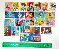 Sailor Moon - SMS Banpresto Twin Character Card SET of 24 [NM] - MINI Cards
