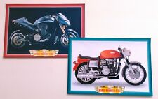 MUNCH MAMMUT 2000 Y2K AND MAMMOTH 4TTS 1967  MOTORCYCLE BIKE 2 PICTURE SET