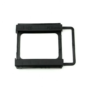 2.5 To 3.5 inch SSD HDD Dock Mounting Adapter Bracket Hard Drive Holder PC -EU-