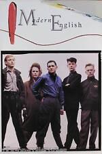 Modern English 1984 Ricochet Days Original Promo Poster