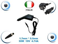 Alimentatore caricabatterie adattatore automobile per ACER Travelmate C200