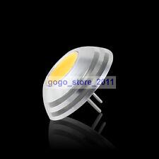 G4 COB SMD LED 2W Lamp Spot Light Bulb Warm White DC 12V 2800-3300K 100-120Lm