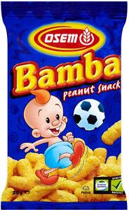 8 Packets of Osem BAMBA - - - Kosher peanut snack israeli joblot wholesale deal
