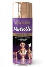 Rust-Oleum Brilliant Finish Bright Copper Fast Dry Spray Paint Aerosol 400ml