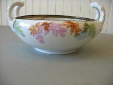 Antique ES Germany Prox Saxe Prussia Fruit Serving Bowl