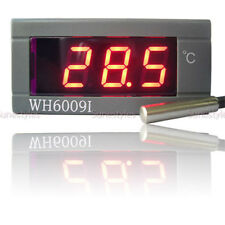 Digital Thermometer Temperature Auto Car Meter Gauge With Probe DC 12V
