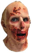 Walking Dead Rv Screw Driver Latex Mask Zombie Movie Show Costume Halloween