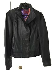 Ted Baker Leather Jacket Size 2