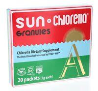 Sun Chlorella A 20 Packets (3g each)-Brand New-Free Fast Shipping