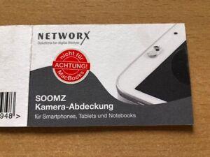 10 x 2 Kamera Abdeckungen für Smartphones, Tablets - SOOMZ