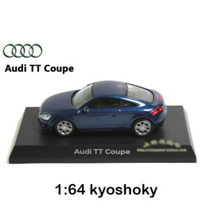 Blue Kyosho 1:64 AUDI TT Coupe Diecast Model Car Mint 1/64 2007 limited edition