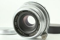 [Exc+5] Canon 35mm f/2.8 Lens for Leica Screw Mount L39 LTM from Japan 0714A