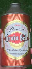"*Clean* Grain Belt Premium ""Strong"" Cone Top Beer Can (Minnesota) USBC#167-16"