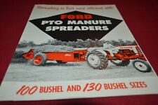 Ford Tractor PTO Manure Spreaders Dealers Brochure AMIL15