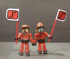 "Custom minimate set of ""Visitors""  from ""V"" the series 1984"
