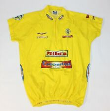 Mibra Colombia Colombian Yellow Bicycle Cycling Jersey Medium Mibra Deportes