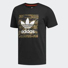 ADIDAS SKATEBOARDING CAMO BB T-SHIRT BLACK/CAMO PRINT/ORANGE