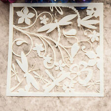 Dragonfly Flower Layering Die Stencil Template DIY Scrapbooking Paint Cut  New