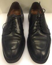 Allen Edmonds Ashton Black Split Toe Derby Oxfords Rubber Sole Men's 9.5 E 1608