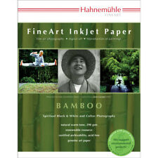 """Hahnemühle FineArt InkJet Bamboo Paper 13""""x19"""" 25 Sheets"""
