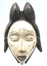 Art Africain Ethnique Tribal Premier - African Mask - Masque Punu - 28 Cms