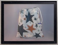 Gymnastics Leotard Grip Bags / Blue Large Stars Gymnast Birthday Goody Bag