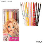 Top Model Hair & Skin Coloured Set of 12 Colouring Pencils with Sharpener - 5678