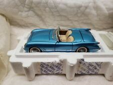 New ListingFranklin Mint Die Cast 1:24 scale 1955 Chevrolet Corvette Convertible